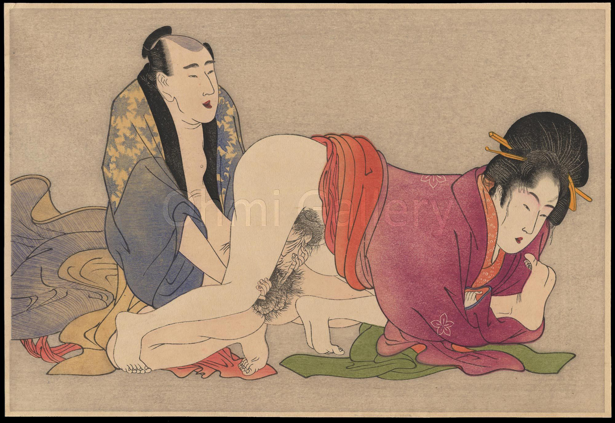 Shunga 1780Japanese term for erotic art